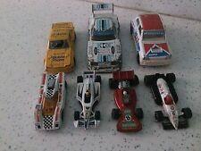 7 Rallye Voitures Renault 5 Turbo Zak Vitesse Mustang, Opel Manta, Hot Wheels, CORGI,