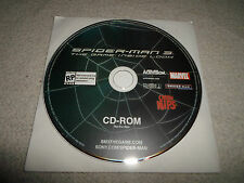 Tested ! Spider-Man 3 the Game Inside Look CD-ROM *Cheese Nips* Promo Marvel PC