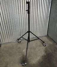 Calumet 7' Heavy Duty Extendable Light Stand Model MF6070 With Wheels In EUC