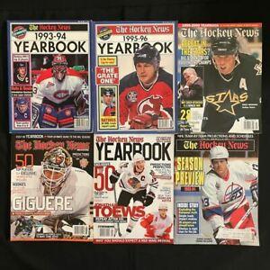 The Hockey News Yearbook 1993-94, 1995-96, 1999-00, 2007-08, 2010-11 & '93-'94 S