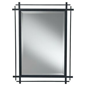Feiss Ethan Mirror in Antique Forged Iron - MR1107AF