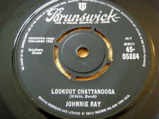 """JOHNNIE RAY - LOOKOUT CHATTANOOGA / AFTER MY LAUGHTER CAME TEARS   7"""" VINYL"""