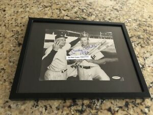 Mickey Mantle Stengel Triple Crown Signed New York Yankees 8X10 Photo UDA COA