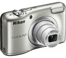Silver Compact Digital Cameras