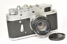 ZORKI 4 rangefinder camera with Jupiter 8, based on Leica, after CLA from 1972