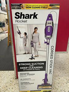 Shark Rocket ZS351 Corded Stick Vacuum Cleaner Zero-M no Hair Wrap Brush Roller
