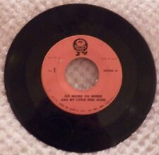 Oh Where Oh Where Has My Little Dog Gone Simon Says Records 45 rpm
