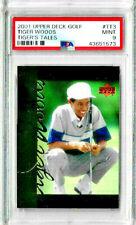 2001 Upper Deck Golf Tiger Woods Tiger Tales TT3 PSA 9