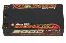 Gens Ace 6000mah 7.4 7.6v HV Shorty Redline 2S 130C LiHV lipo Battery 5mm Bullet