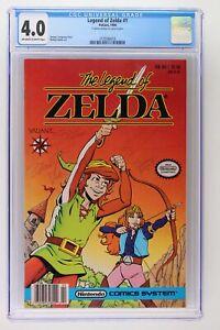 Legend of Zelda #1 - Valiant 1990 CGC 4.0 - Signed x 5!