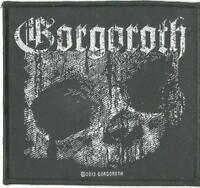 GORGOROTH skull 2013 - WOVEN SEW ON PATCH official - no longer made