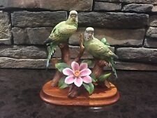 Parakeet By Andrea By Sadek Two Birds with Base