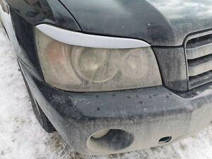 For Toyota Highlander Eyebrows Eyelids Eye Line Primed 2000-2007 Set Eyelash