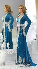 Dubai Moroccan Kaftan Georgette Dress Jilbab Arabian clothing Hot ISLAMIC 4855