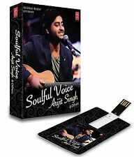 SOULFUL VOICE ARIJIT SINGH & OTHERS USB MUSIC CARD/ 140 SONGS / WORKS ON ALL USB