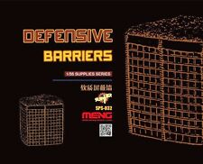 Meng 1:35 Defensive Barriers Resin Model Kit