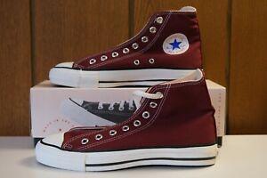 "Vintage Converse Chuck Taylor All Star Hi ""Made in USA"" US 7.5 / 9.5 UK 7 EU 41"