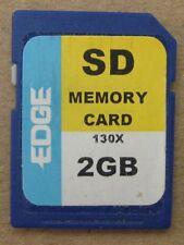 Edge 2 2.0 GB 2GB 2.0GB Extreme 130X SD Memory Card 02GB06T100TSI6V USA Seller