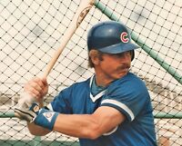 Ron Cey 1984 Chicago Cubs 8x10 Los Angeles LA Dodgers