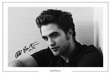 ROBERT PATTINSON AUTOGRAPH SIGNED PHOTO PRINT TWILIGHT HARRY POTTER