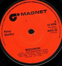 """PETER SHELLEY wisconsin/i'm flying MAG 49 uk magnet 1975 7"""" WS EX/"""