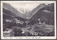 BRESCIA VEZZA D'OGLIO 04 VAL PAGHERA Cartolina viaggiata 1956