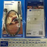 """DREMEL 225-01 36"""" Flexible Flex Shaft Attachment Comfort Grip Hand Piece USA New"""