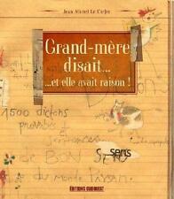 Grand-mère disait Le Corfec  Jean-Michel   Thévenin  Jean-Pierre Occasion Livre
