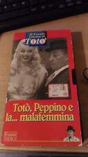 VHS - IL GRANDE CINEMA DI TOTò - TOTò, PEPPINO E LA...MALAFEMMINA