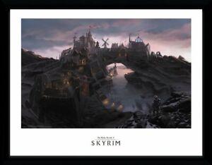 NEW *Official* Skyrim (The Elder Scrolls V) Framed Art Print: Solitude