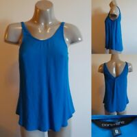 PORTMANS Deep Aqua Tank Top - SIZE 8