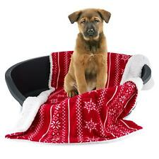More details for celebright christmas pet blanket - deluxe fleece for dogs cats puppies 72x110cm