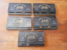 lot x 5 OLD Uruguay JOB rolling paper MINT unused package LOOK THE PHOTOS