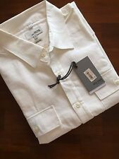 JACK SPADE THE KREN CLASSIC FIT WHITE 100  SHIRT( LARGE)  $ 225