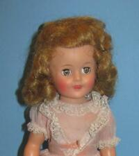 "VINTAGE 1950'S  15"" SHIRLEY TEMPLE DOLL IN ORIGINAL DRESS ECT"
