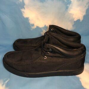 Timberland Groveton Mount Chukka Black Men's Shoes SIZE 13 6513B