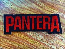 Pantera Heavy Metal Rock Music Band Sew Iron On Embroidered Patch/Badge/Logo 004