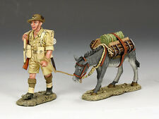 KING & COUNTRY EIGHTH ARMY EA072 BRINGING UP SUPPLIES MIB