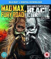 **NEW** - Mad Max Black and Chrome Edition [Blu-ray + Digital 5051892207959