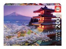 "NEW EDUCA Adult Jigsaw Puzzle 2000 Tiles Pieces ""Mount Fuji, Japan"""