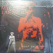 MYLENE FARMER - AVANT QUE L'OMBRE... À BERCY - 4 LP VINYLE LIVE 2006 - 21 TITRES