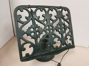 Vintage Style Cast Iron Recipe Book Holder S3