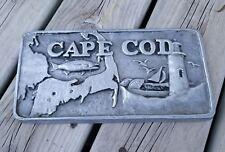 Pewter Cape Cod Plaque / Pewtarex York, Pa.
