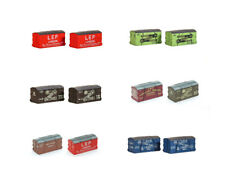 Wagon Containers - N gauge model train spares Peco (6 sets)