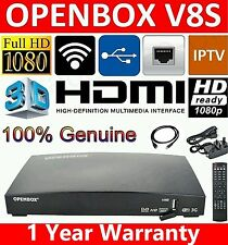 Original Openbox V8S Full HD receptor de satélite Freesat PVR Smart TV Caja de canal
