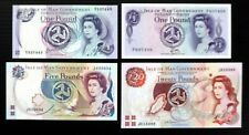 More details for gb isle of man uncirculated set of 4 banknotes dn454