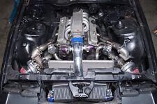 CX Twin Turbo Header Manifold Downpipe Kit For 82-92 Camaro SBC Small Block