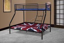 Cadres de lit et lits coffres noir en métal pour la chambre à coucher