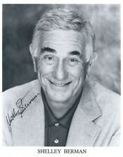 Shelley Berman autographed 8x10 with COA by CHA