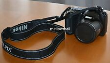 Nikon COOLPIX L330 20.2MP Digital Camera + Strap Batteries SD Card